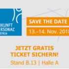 Messe Zukunft Personal Austria, Personalfachmesse Österreich, Lohnverrechnung, HR, Human Resources, Zeit, Software